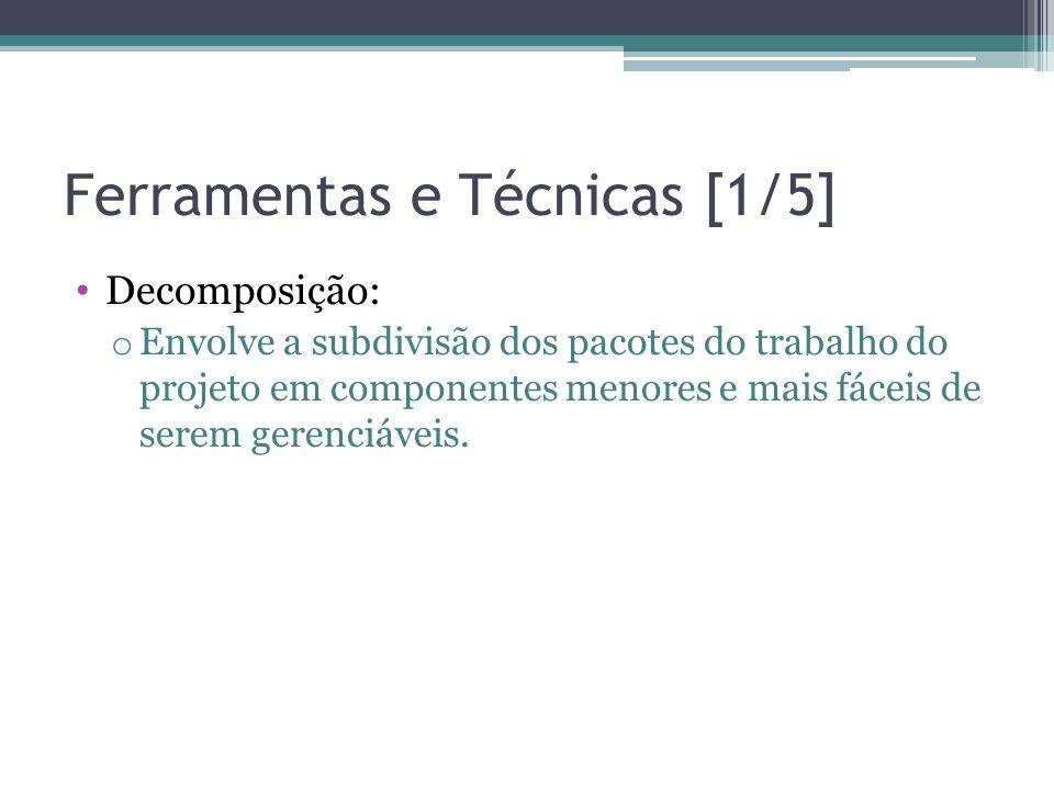 Ferramentas e Técnicas [1/5]